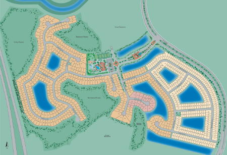 botanica lakes site plan