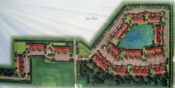 cypress lakes siteplan